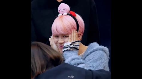 CUTE Compilation jimin bts at fansign YNWA 2017   YouTube