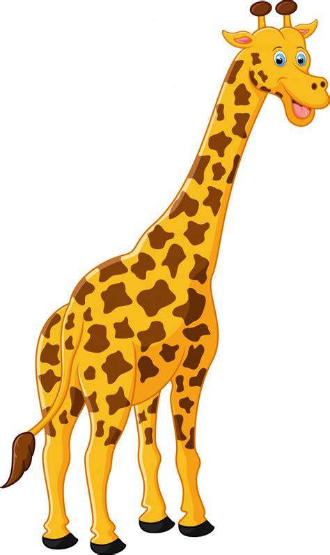 Cute jirafa de dibujos animados | Descargar Vectores Premium