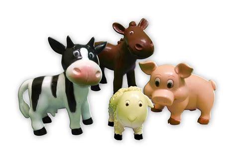 Cute plastic toy animals