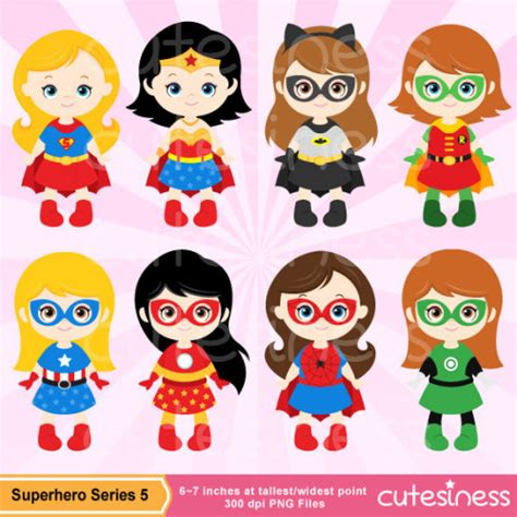 Cute Supergirl Clipart - Clipart Suggest