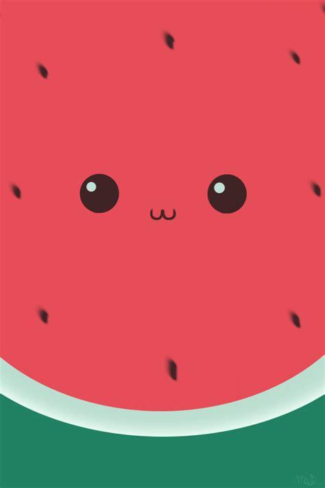 Cute watermelon wallpaper | Food wallpaper | Pinterest ...