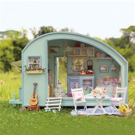 CuteRoom A-016 Time Travel DIY Wooden Dollhouse Miniature ...