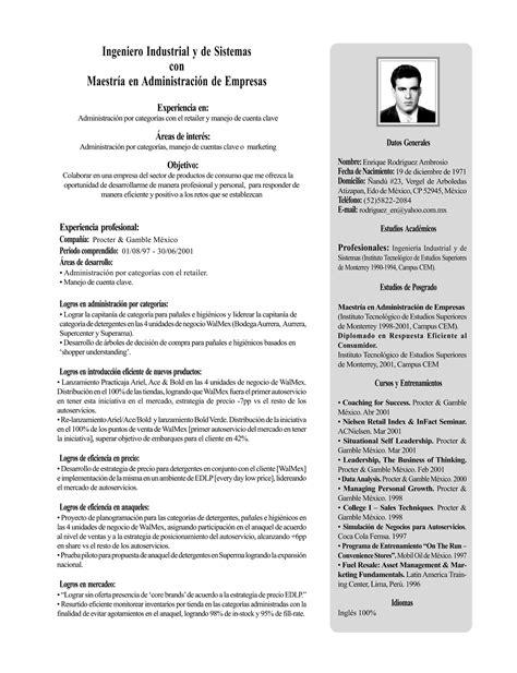 CV en espagnol | Exemple de CV Espagnol