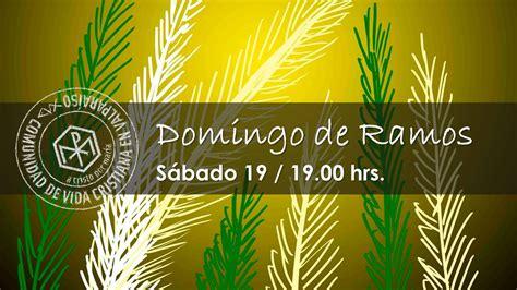 CVXChile: VALPARAÍSO. Invitación a Misa Domingo de Ramos