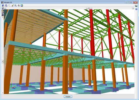 CYPECAD. Vista 3D de forjados unidireccionales con ...