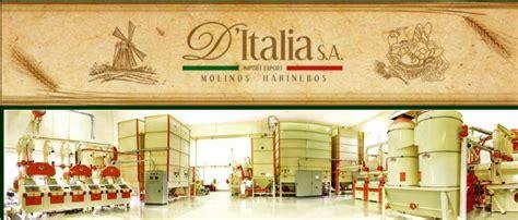 D'ITALIA S.A. Molinos Harineros | Guía Comercial de Santa Rita