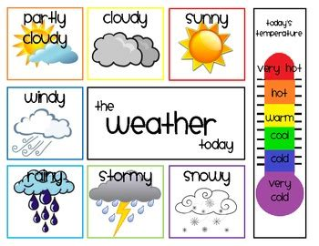 daily weather chart by Shae Zimmerman | Teachers Pay Teachers