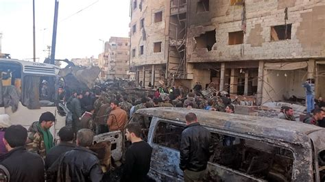 Damascus Blasts: At Least 60 Dead in Bombings Near Sayeda ...