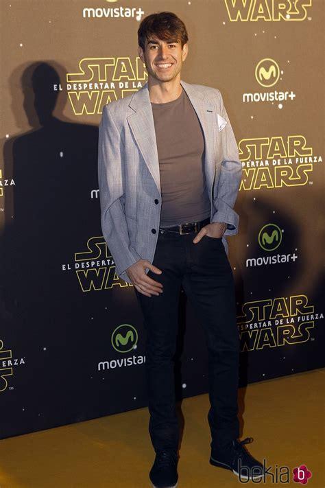 Dani Muriel en el estreno de  Star Wars: El Despertar de ...