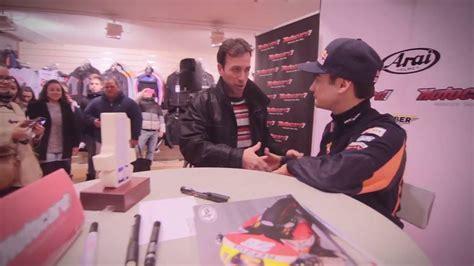 Dani Pedrosa en Motocard Madrid  Arai Day    YouTube