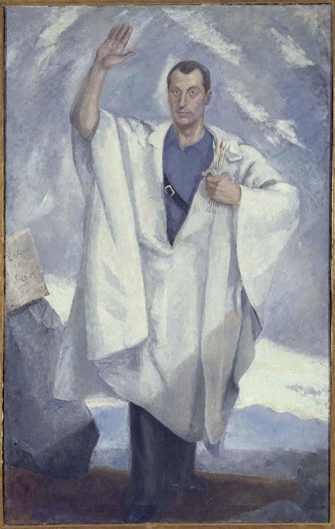 Daniel Vázquez Díaz   Retrato de José Antonio Primo de Rivera