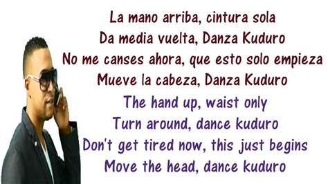 Danza Kuduro   Don Omar ft Lucenzo Lyrics English and ...