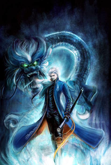 Dark Dragon - Vergil Fan Art (34319526) - Fanpop