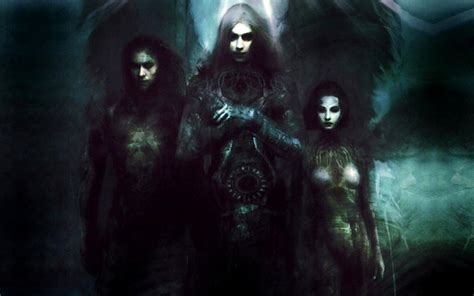 Dark horror fantasy art gothic vampires angels women men ...