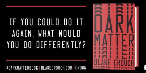 Dark Matter – Blake Crouch – Jackpwns' Posts