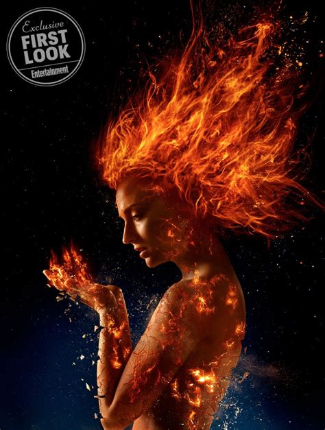 Dark Phoenix: Your first look at 2018 s incendiary X Men movie