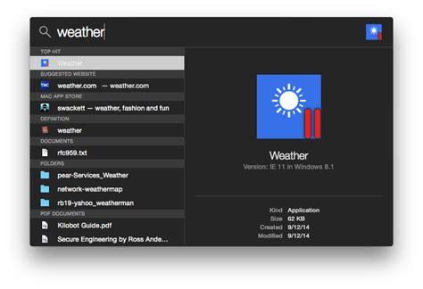 Data Center: FYI: Spotlight do Mac OS X da Apple Yosemite ...