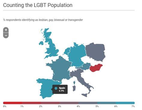 Datos estadísticos sobre el colectivo LGTBIQ en el mundo