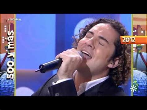 David Bisbal  Ave Maria  Menuda Noche 2012   YouTube