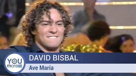 David Bisbal   Ave María   YouTube