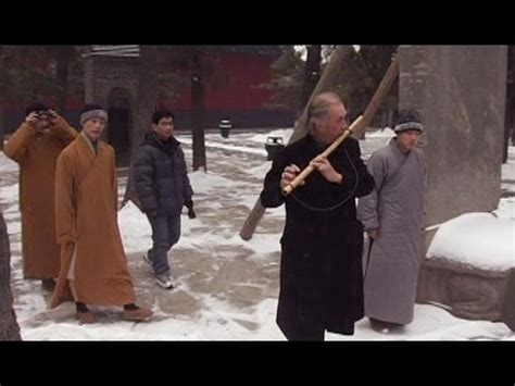 David Carradine Visits a Shaolin Temple in China  2005 ...