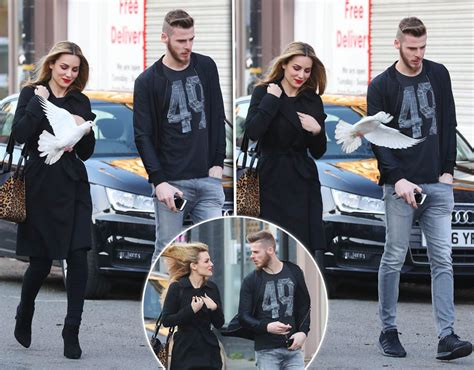David De Gea and fiancee Edurne Garcia suffer near miss ...