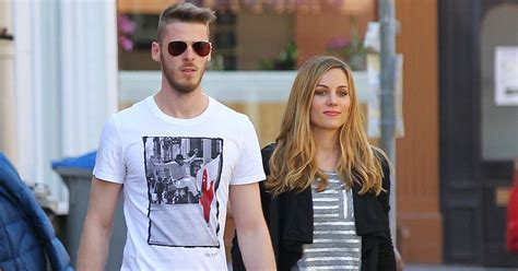 David de Gea enjoys time with girlfriend Edurne Garcia ...