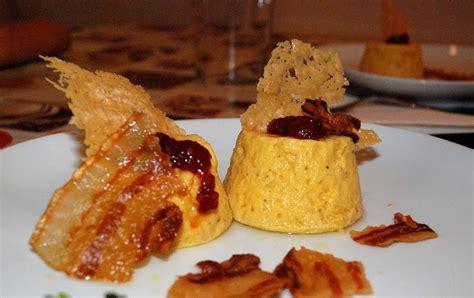 David Yáñez: Flan de calabaza con crujiente de parmesano y ...