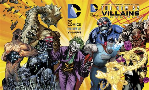DC NEW 52 VILLAINS OMNIBUS Gets A 3 D Motion Cover | DC