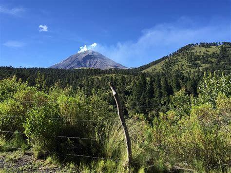 De excursión al volcán Popocatépetl