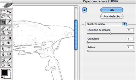De foto a dibujo de línea en Photoshop - Todotutoriales