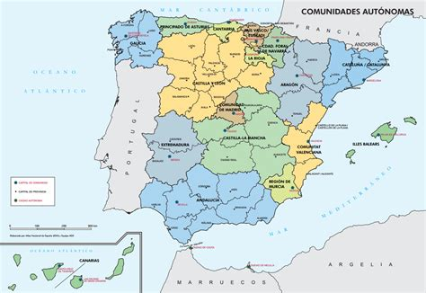 De Madrid a  España    Colorea MadridColorea Madrid