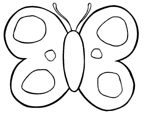 De mariposas para calcar - Imagui