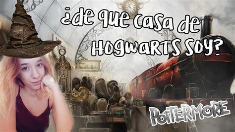 ¿DE QUÉ CASA DE HOGWARTS SOY?   TEST DE POTTERMORE   YouTube