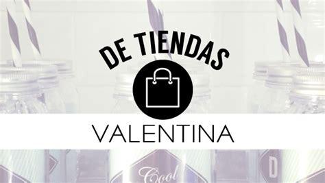 De tiendas… Valentina