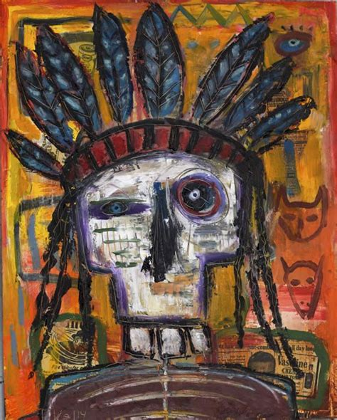Dead Indian by santa fe artist Kelly Moore #art brut # ...