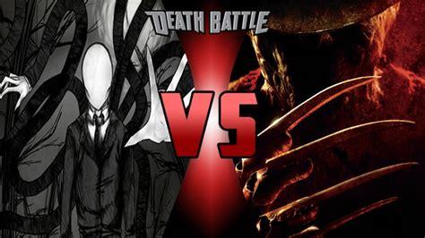 Death Battle: Slender Man vs Freddy Krueger by ...