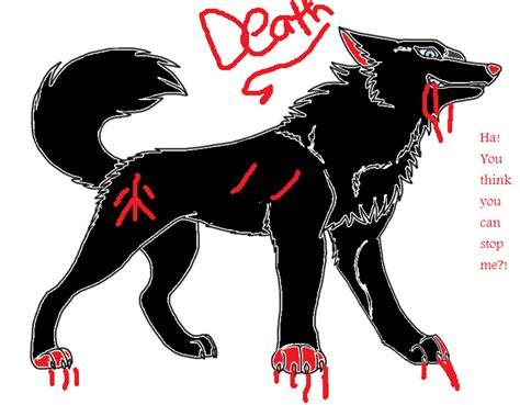 Death mean yet badass wolf by 756029 on DeviantArt