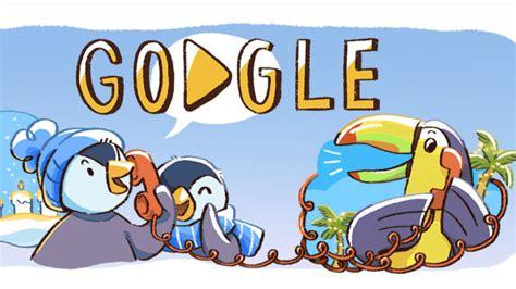 December global festivities Google doodle kicks off series ...