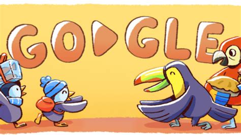 December global festivities Google doodle marks day 2 of ...
