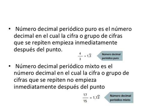 Decimales periodicos