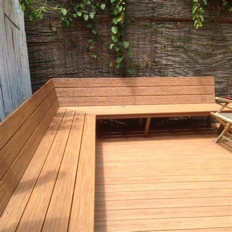 Deck y banca en terraza – Deck Solutions