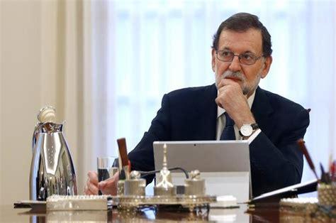 Declaración de independencia de Cataluña: Mariano Rajoy ...