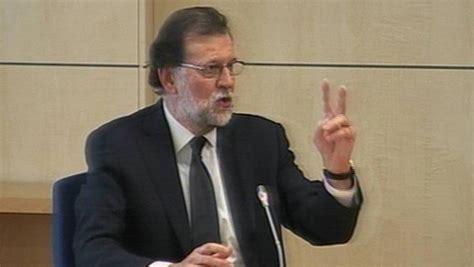 Declaración de Rajoy ante la Audiencia Nacional es ...