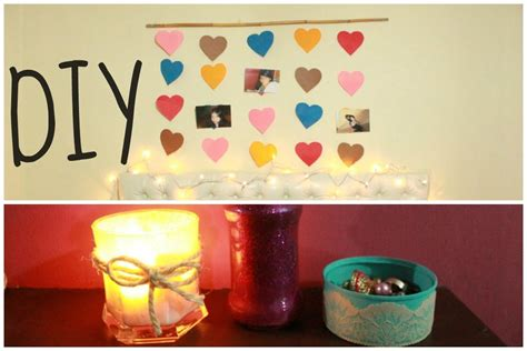 DECORA TU HABITACION   DIY 4 IDEAS   YouTube