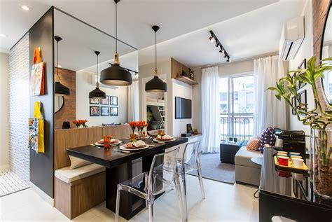 Decoração de um apartamento pequeno de 40m com Fotos