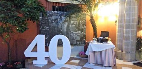 Decoración 40 cumpleaños en El Puerto de Santa María | ETC ...