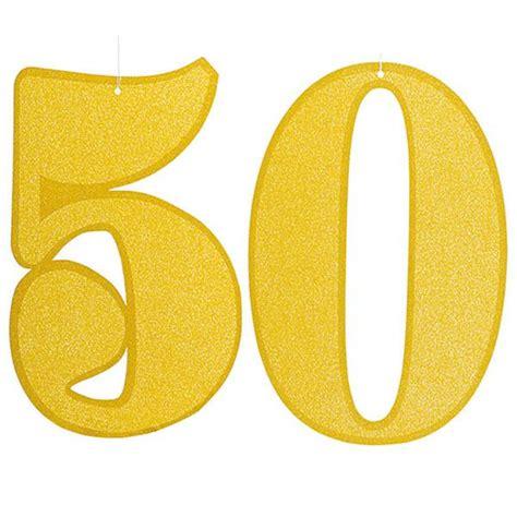 Decoración 50 cumpleaños Glitter - Aire de Fiesta