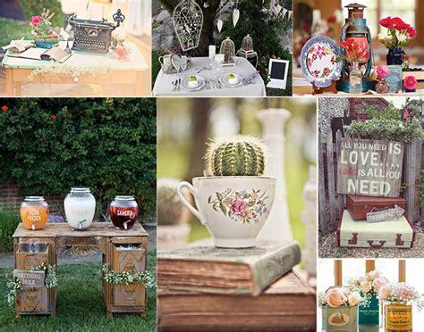 Decoracion Bodas Vintage. Interesting Ideas Para La ...