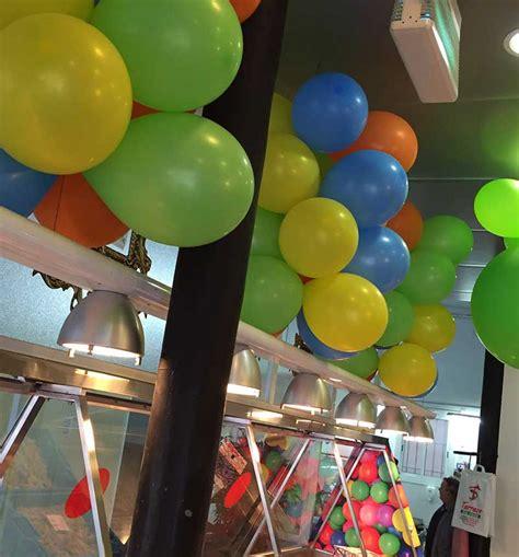 Decoracion Con Globos De Colores. Train Birthday Party ...